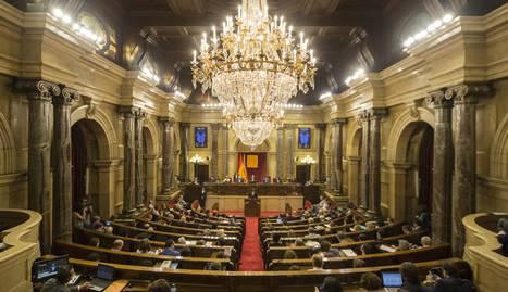 Una vista del Parlament aquest dijous.