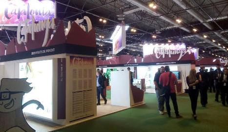 L'estand de Catalunya en la passada edició de Fruit Attraction.