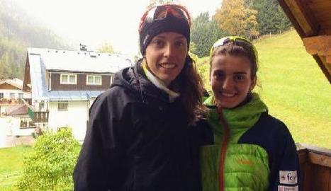 Lydia i Maria Iglesias pertanyen a l'ANEC de la Val d'Aran.
