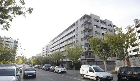 Imatge del carrer Agustins, al barri de Cappont
