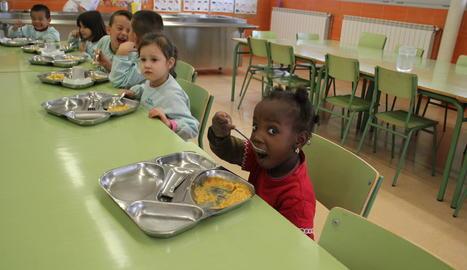 Imatge d'arxiu del menjador d'un centre escolar.