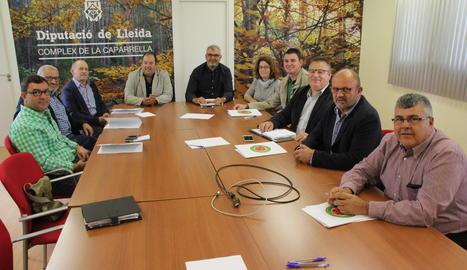 Els membres del Consell Català de la Producció Integrada