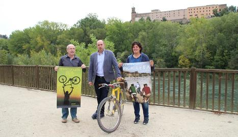 Les dos activitats es van presentar ahir a Balaguer.