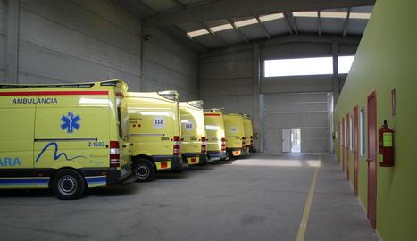La nova base del SEM s'ubica al Camí dels Frares, al costat de les ambulàncies de Lafuente-Egara.