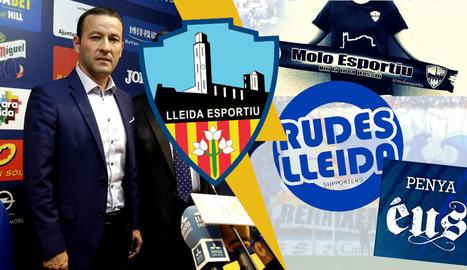 Lleida Esportiu: Penyes contra directiva.