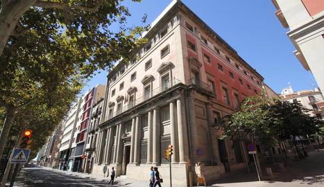L'antiga Audiència acollirà el Museu Morera.