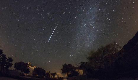 Pluja d'estels del Cometa Halley
