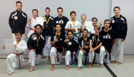 Nou podis del Do San Lee al Català de taekwondo