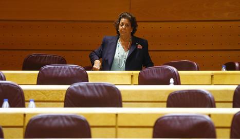 Rita Barberá declararà davant del Suprem per presumpta participació en blanqueig de capitals.
