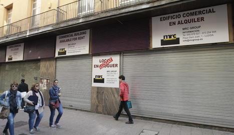 El local, ubicat en el número 35 del carrer Major, està tancat des del juliol, quan se'n va anar Miró.