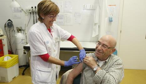 Campanya de la vacunació de la grip.