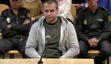 Antonio Ortiz, en el judici.