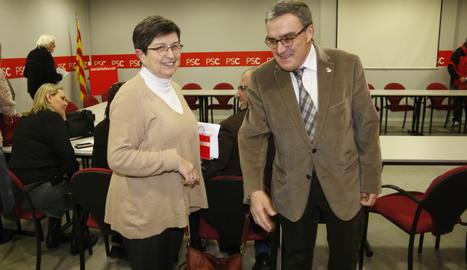 Àngel Ros i Teresa Cunillera en una imatge d'arxiu.