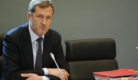 El president de la regió belga de Valònia Paul Magnette.