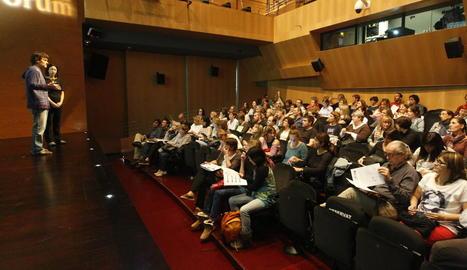 Sessió formativa per a centres integrats al projecte Escola Nova 21