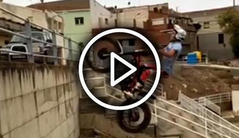 El salt impossible d'Arnau Farré