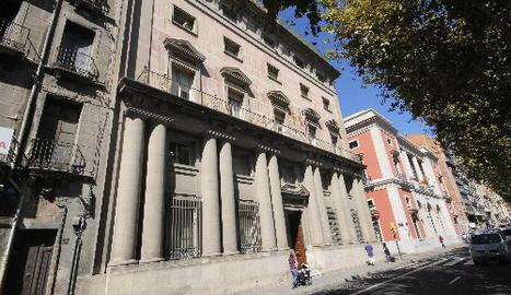 L'edifici de l'antiga Audiència