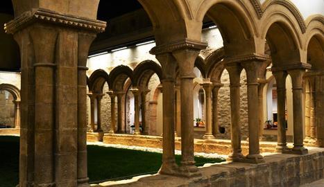 El monestir de les Avellanes estrena la restauració del claustre romànic