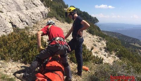 Mor una dona en un accident de parapent a Àger