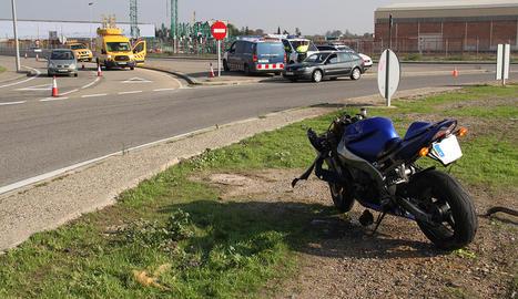 AccAccident mortal a l'LL-11 a Lleidaident mortal a l'LL-11 a Lleida