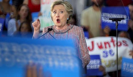 La candidata presidencial demòcrata, Hillary Clinton.
