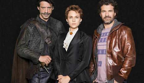 Els protagonistes de la sèrie.