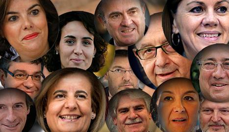 Aquest és el nou Govern de Mariano Rajoy