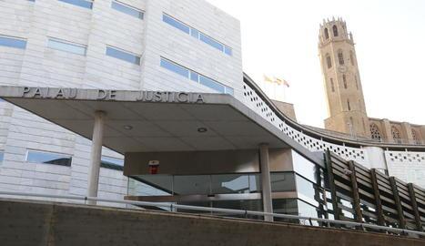 Imatge de l'edifici judicial al Canyeret.