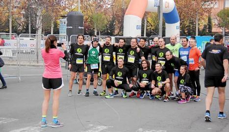 La cita va batre el seu rècord de participants, amb 2.000 corredors.