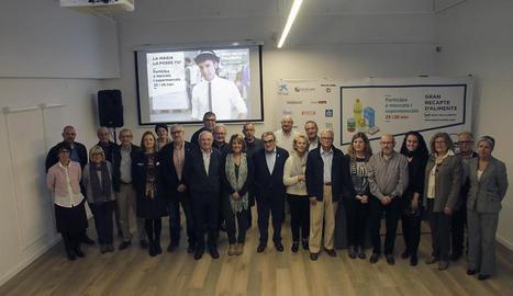 CaixaForum Lleida va acollir ahir la presentació del Gran Recapte.