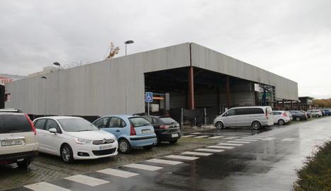 Avancen les obres de dos nous centres comercials a Lleida
