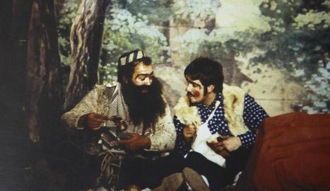 Bato i Borrego, en l'última escenificació del 1993.