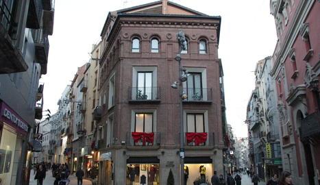 L'edifici de la botiga Mael.
