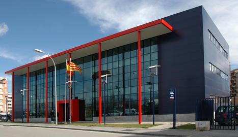 La comissaria dels Mossos d'Esquadra a Lleida