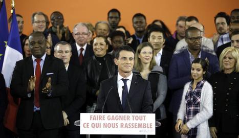 """Valls va confirmar ahir un secret a veus. """"Sí, sóc candidat a la presidència de la República"""", va dir."""