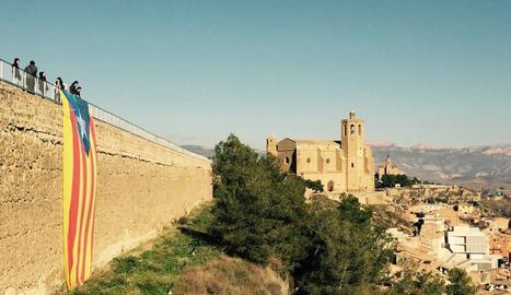 Una estelada, a Balaguer