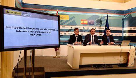 El nivell dels alumnes catalans supera la mitjana d'Espanya i l'OCDE a l'informe PISA
