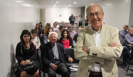 Ximo Company, en una xarrada el 2014 al Museu de Lleida.