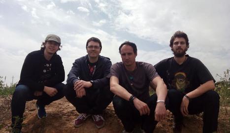 El quartet rocker Hermanos Lobo, banda establerta a Lleida.