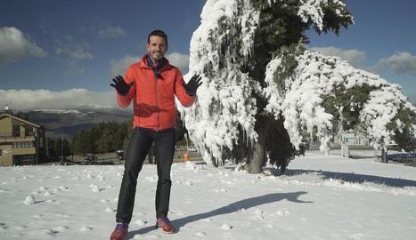 Jordi Gil, el nou presentador.