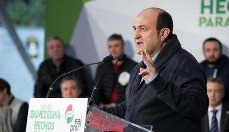 El president del PNB, Andoni Ortuzar.