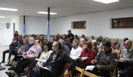Imatge de la presentació a la Casa de la Cultura de Vilaller.