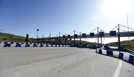 L'autopista R-2, de la qual el jutge va decidir la setmana passada prorrogar 6 mesos la junta de creditors.