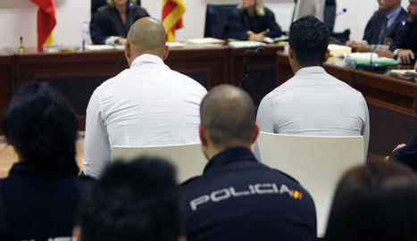 Imatge dels acusats del crim d'una transsexual a Alacant.