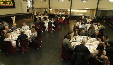 El dinar de Nadal de la Paeria ha tingut lloc a Mercolleida.