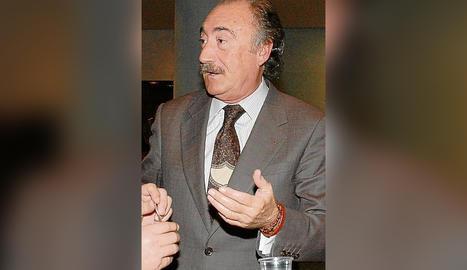 Juli Vilagrasa, una figura del món empresarial i econòmic.