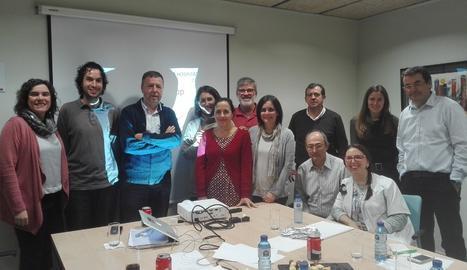 Constitució del grup de treball amb membres de la UdL, l'ICO i el Santa Maria