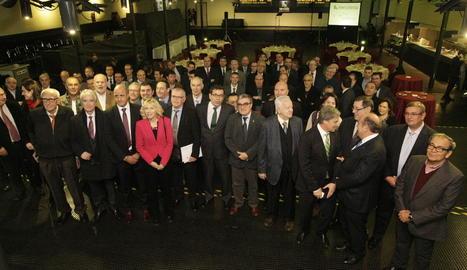 L'acte d'entrega dels premis Pronosporc a Mercolleida.