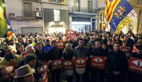 La concentració a Lleida