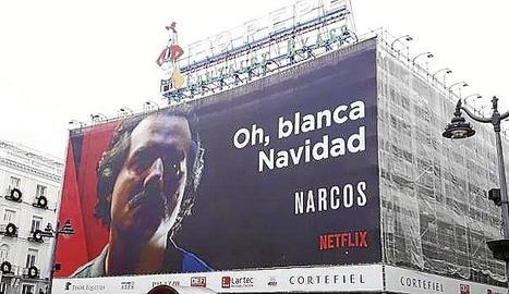 L'anunci de la Puerta del Sol.